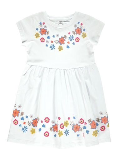 Cvl Elbise Beyaz